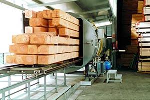 Вакуумное оборудование для пропитки дерева серии IMP-PG