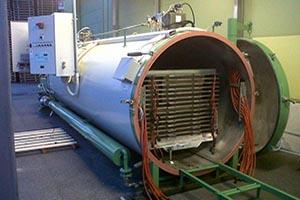 Оборудование для термообработки древесины HTVST